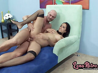 She sucks dick & gets pounded in the same way as a slut! LenaNitro.dating