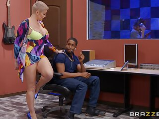 Mature with huge tits, rough BBC pussy action vanguard studio